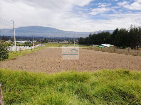 terreno en venta en yaruqui