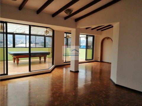 penthouse de renta sector jipijapa