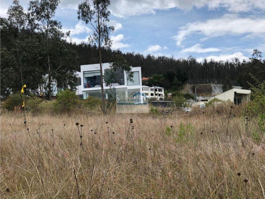 venta terreno 1031 m2 san juan de cumbaya 210 el m2 2165000