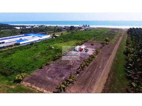 venta lotes cerca al mar sector cojimies 38000