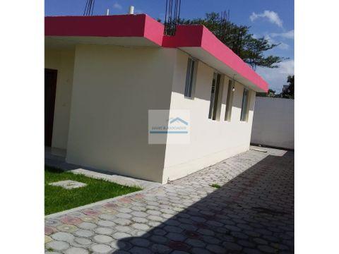 casa en renta venta tumbaco 450