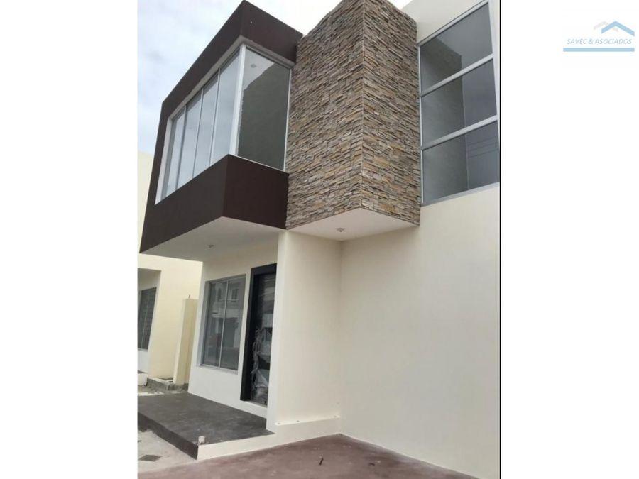 venta casa 3 dormi manta 125000