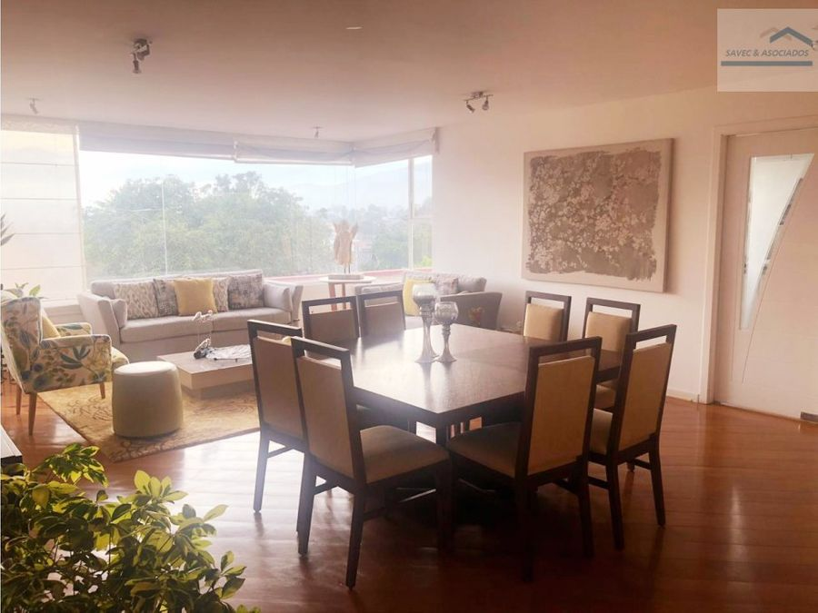 arriendo amplio departamento san juan de cumbaya