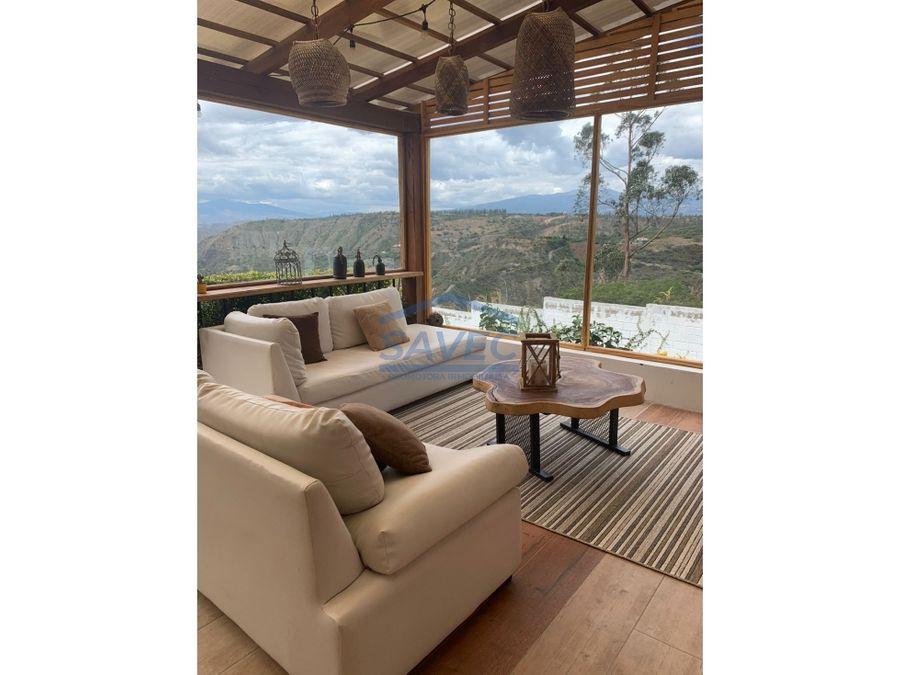 casa en venta con hermosa vista conjunto privado nayon 410mil