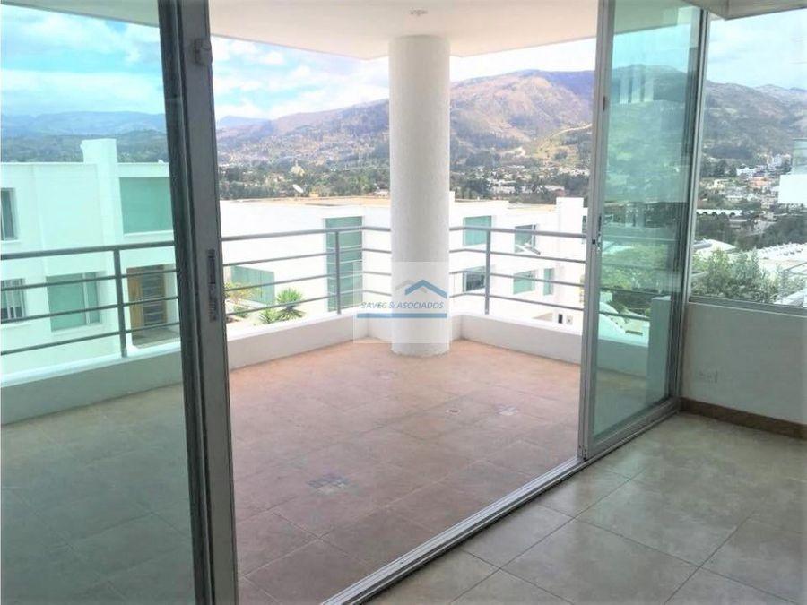venta amplio departamento sector cumbaya 200000