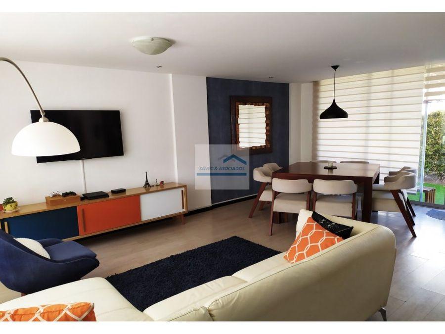 venta casa 3d con jardin tumbaco 160000