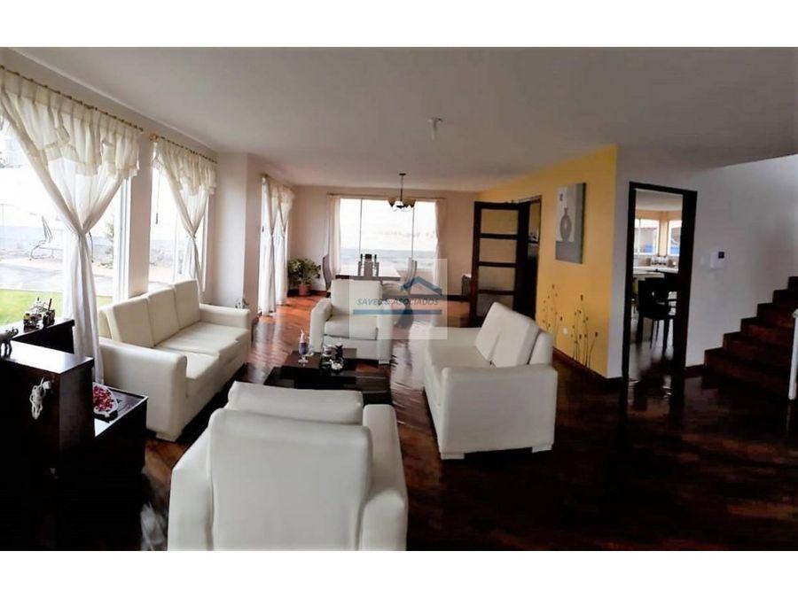 venta casa 3 dormi san juan cumbaya oportunidad 170000