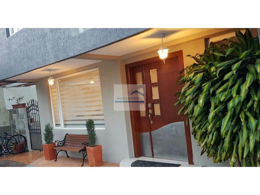 casa en venta cumbaya primavera 169mil