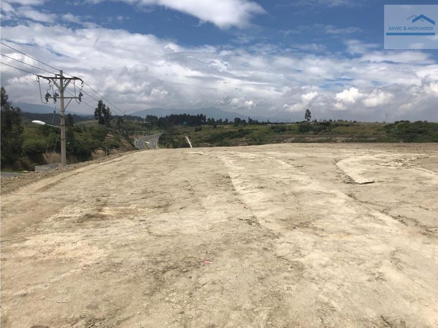 venta terreno 20284m2 industrial pifo 799000