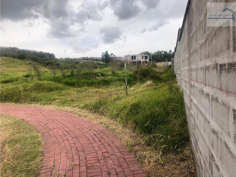 terreno en venta urb privada los chillos colibri