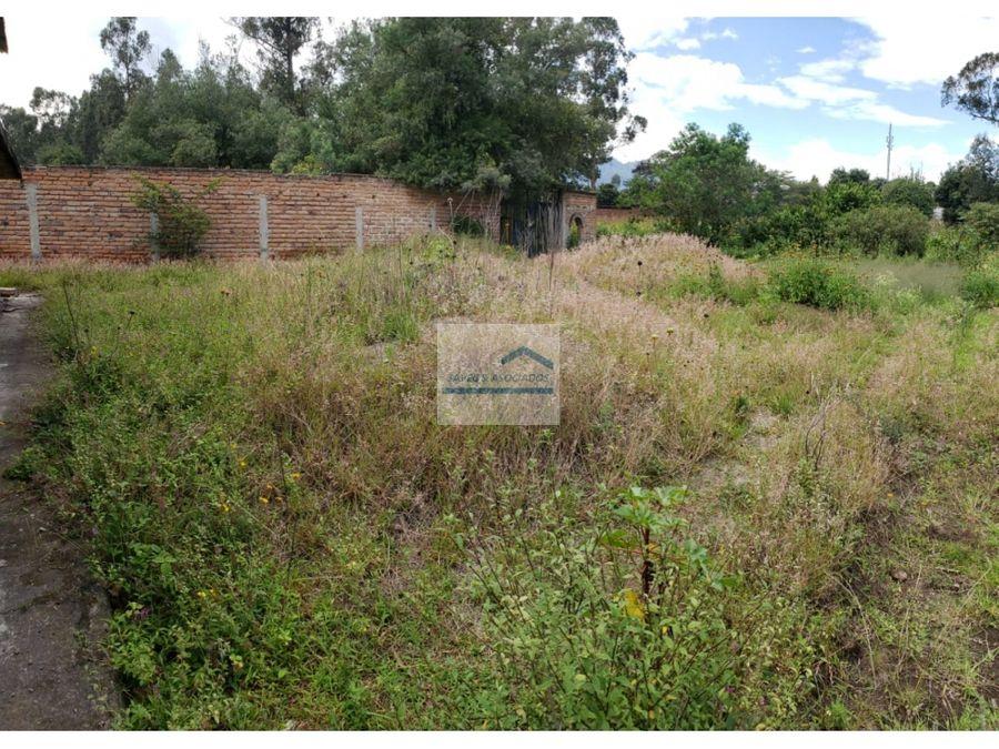 amplio terreno en venta tumbaco arenal precio 80m2