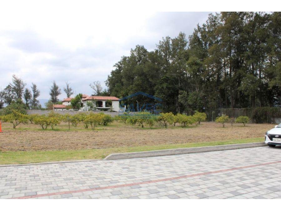 terreno en venta puembo urbanizacion exclusiva 190m2
