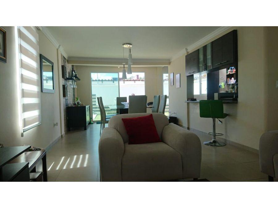 vendo casa independiente conjunto privado precio oportunidad tumbaco