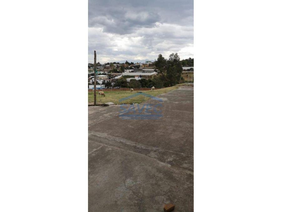 terreno en venta tumbaco centro 140m2
