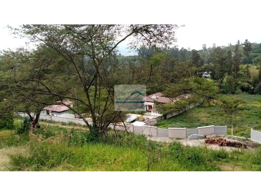 amplio terreno en venta collaqui tumbaco 600mil