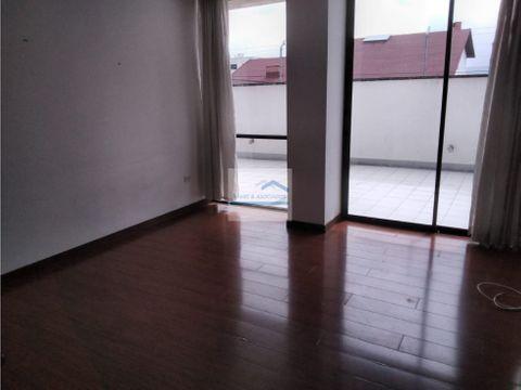 suite semi amoblada con patio interno en renta granda centeno 360