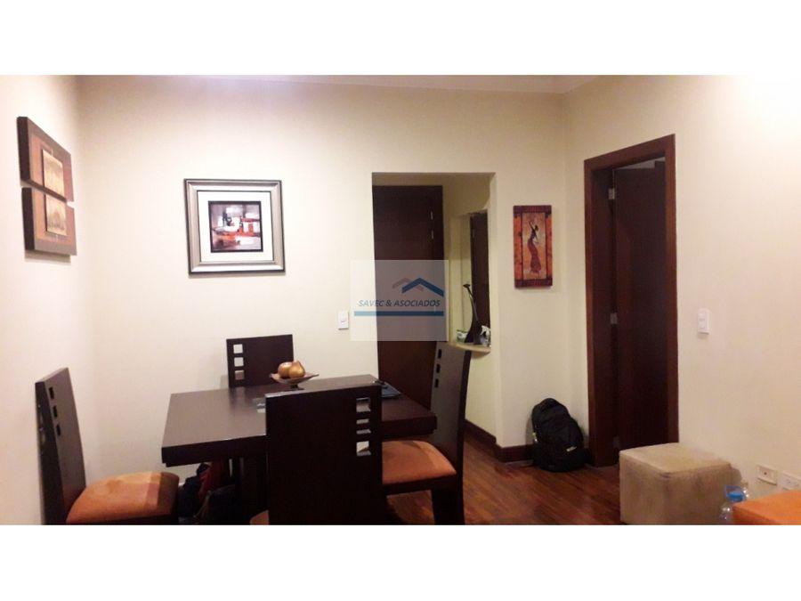 suite amoblada en venta gaspar de villarroel 6 de diciembre 75mil