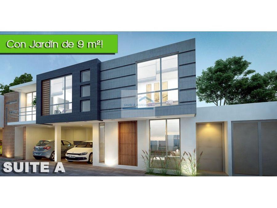 suite en venta con jardin tumbaco acacias 58mil