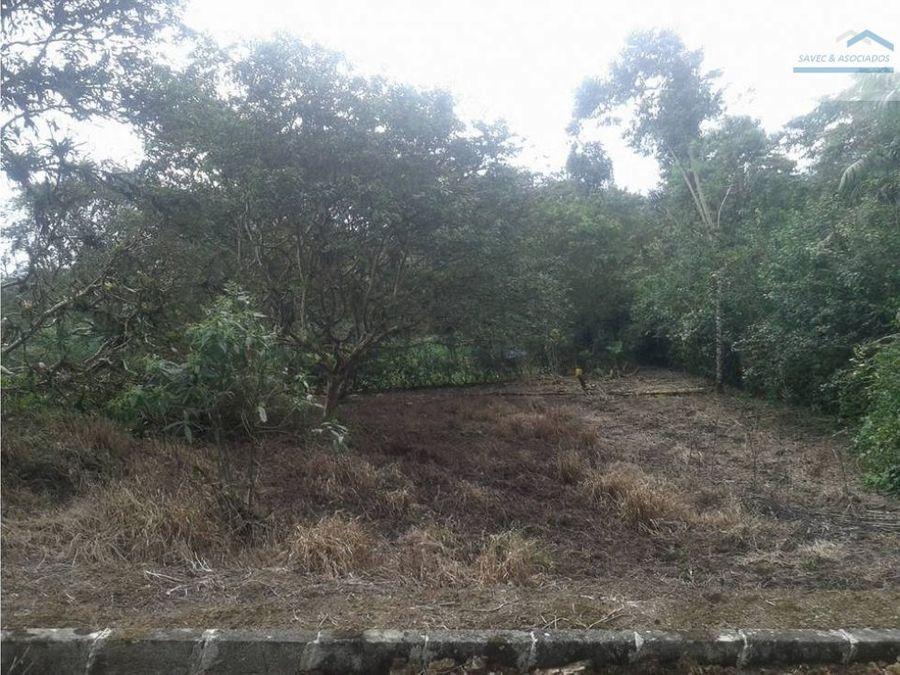 terreno en venta pedro vicente maldonado 14000