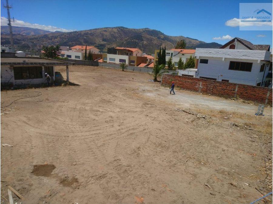 terreno en venta cumbaya