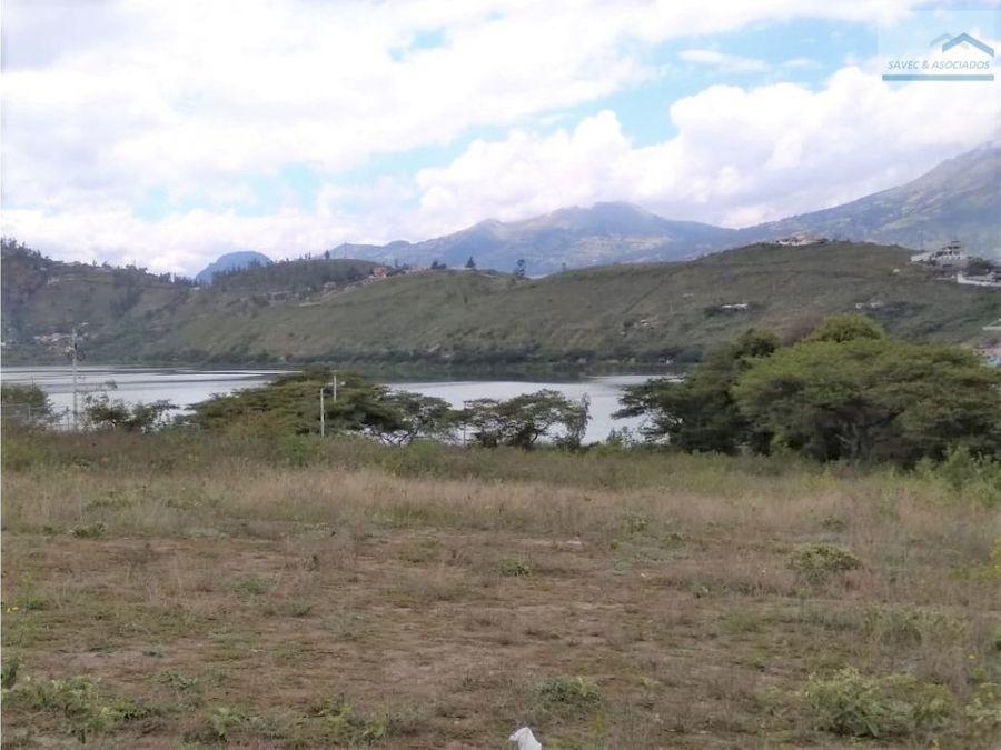 vendo terreno en yahuarcocha