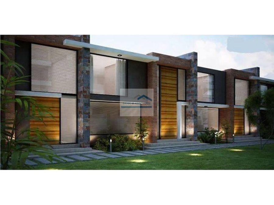 venta casa estrenar con jardin tumbaco 268000