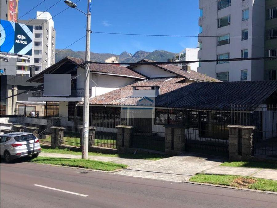 venta terreno constructores 830m2 av eloy alfaro 1390000