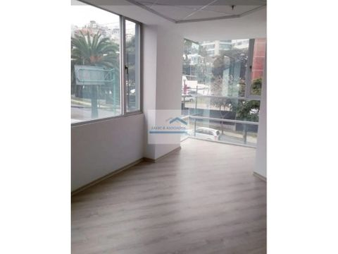 renta oficina 60 m2 av eloy alfaro 600