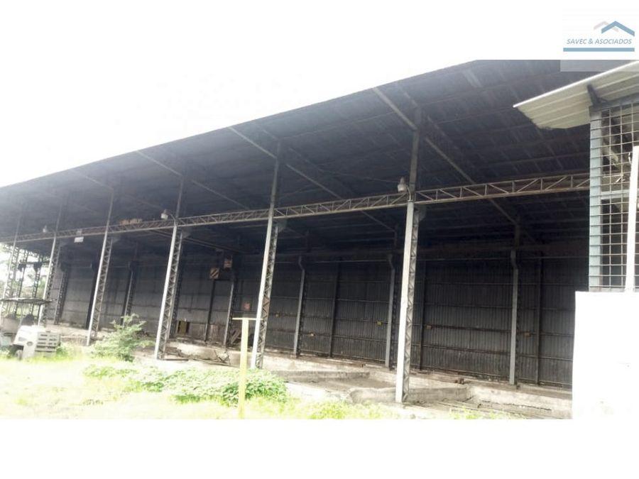 venta propiedad industrial via daule
