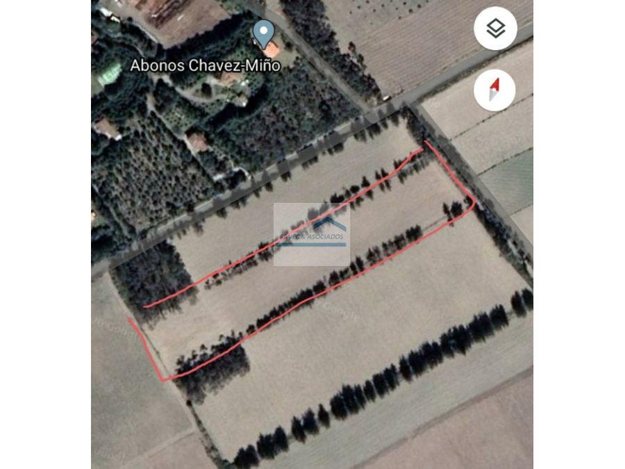 venta lotes de terreno sector malchingui 16600