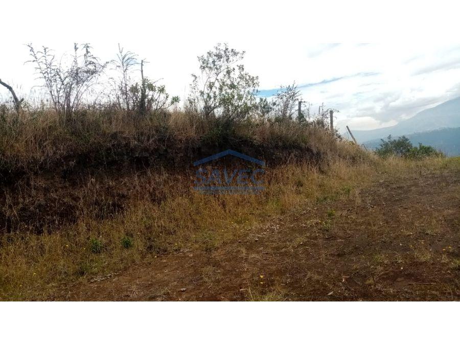 terreno en venta ilalo tumbaco 10m2