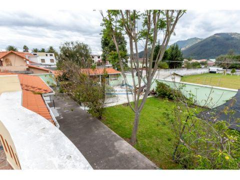 hermosa casa en venta o renta valle de los chillos 390mil o 2mil