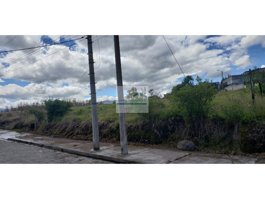 terreno en venta urbanizacion privada sector amaguana 90mil