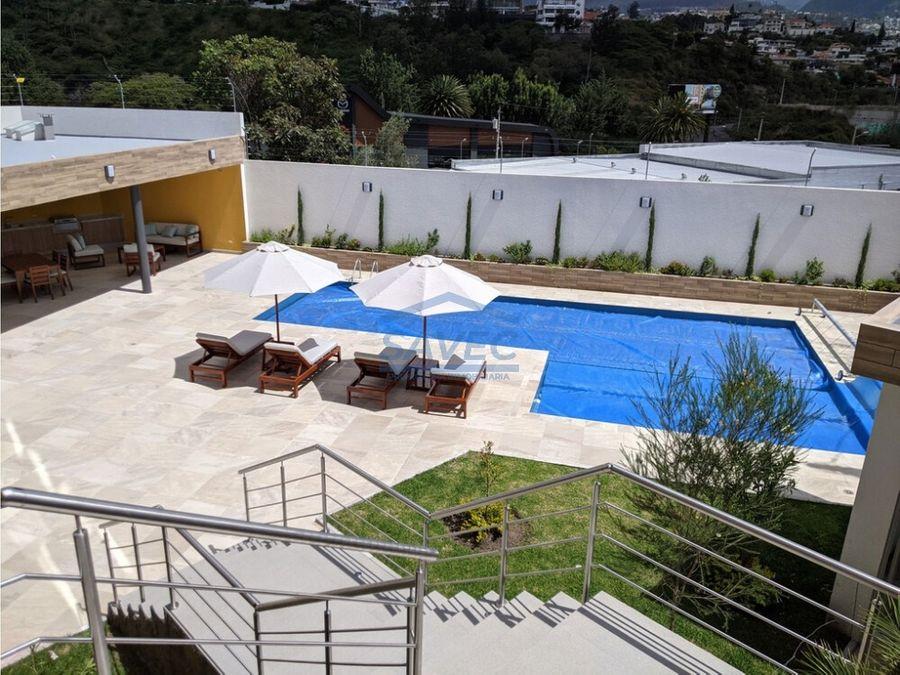 venta depar 3 dormi de lujo por estrenar terraza cumbaya 255000