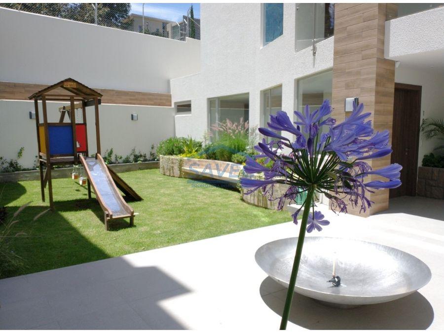 venta depar 3 dormi de lujo por estrenar terraza cumbaya 351000