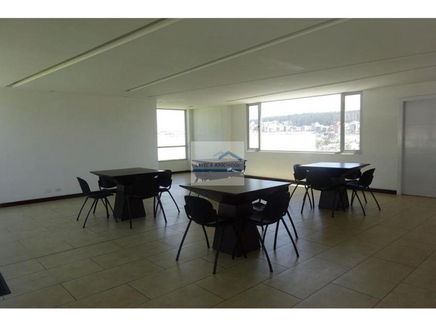 oficina en renta 120 m2 edif shyris park 900