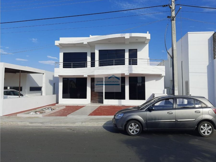venta casa 5 dormi urb manta beach 250000
