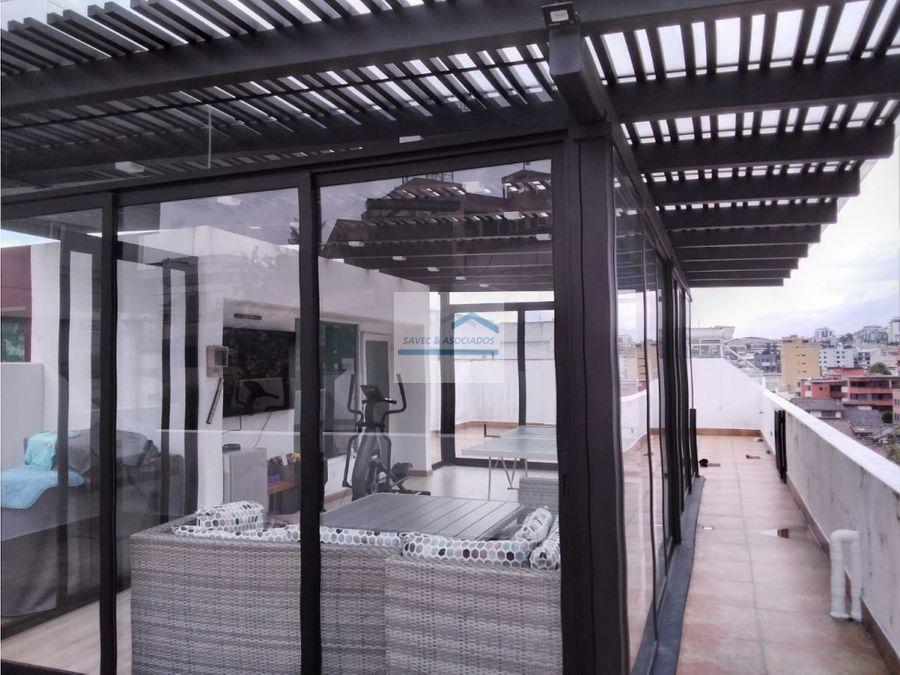 venta departamento terraza quito tenis 350mil