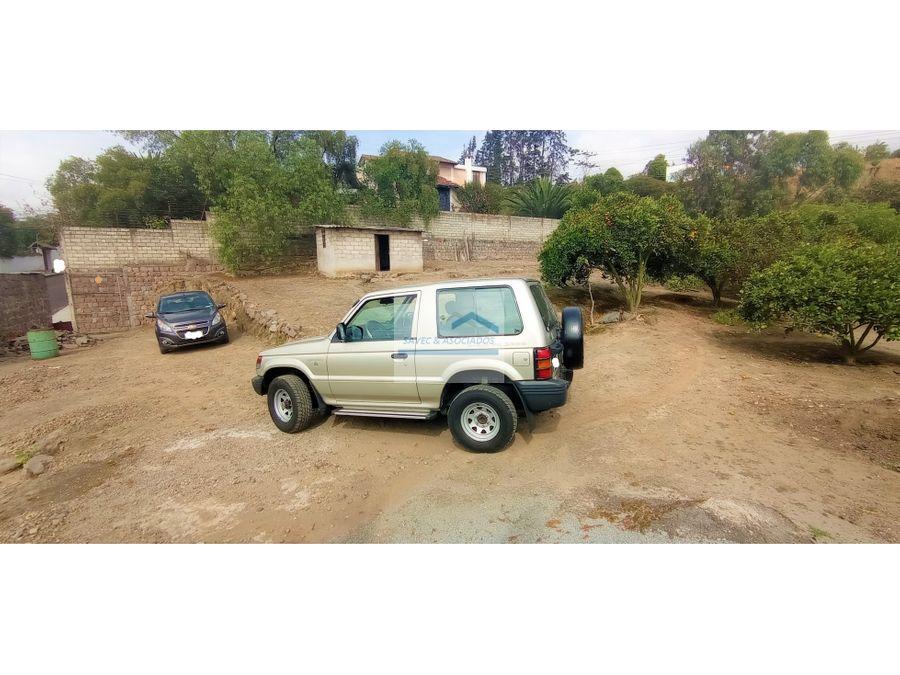 terreno en venta 1913 m2 reservorio jacaranda cumbaya 956500