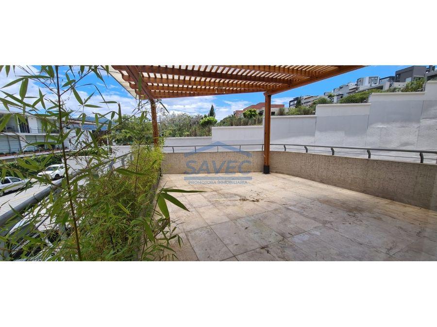 venta depar 3 dormi de lujo por estrenar terraza cumbaya 350000