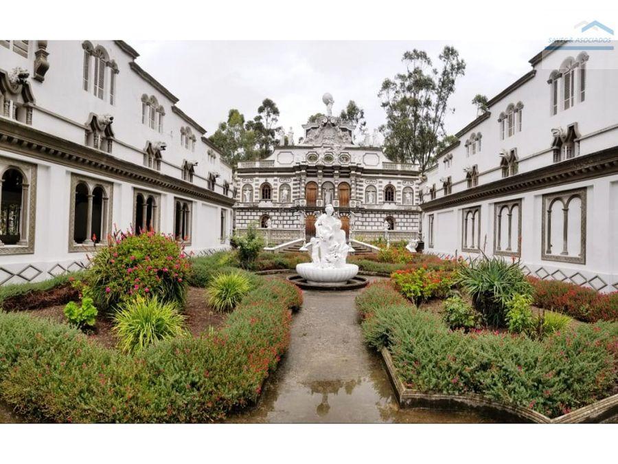 venta de complejo hotelero cayambe 7000000