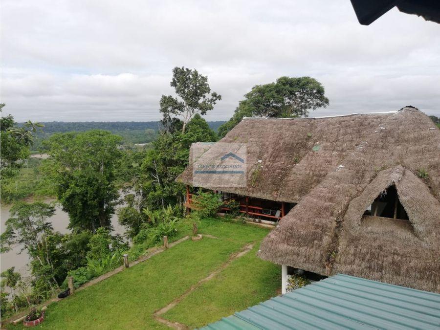 venta ecolodge en el corazon de la amazonia 1570000