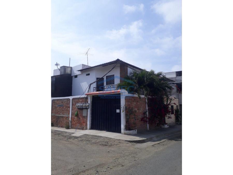 venta casa rentera sector u laica de manta 210000