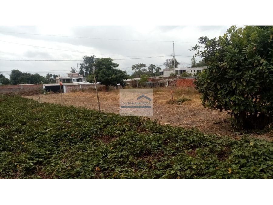 terreno en venta tumbaco junto a ruta viva precio 140m2