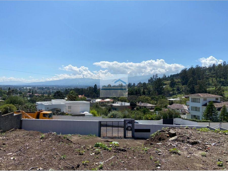 venta terreno 1414 m2 intervalles cumbaya 325000