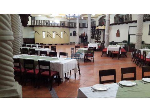 venta hotel hosteria cotacachi 2850000