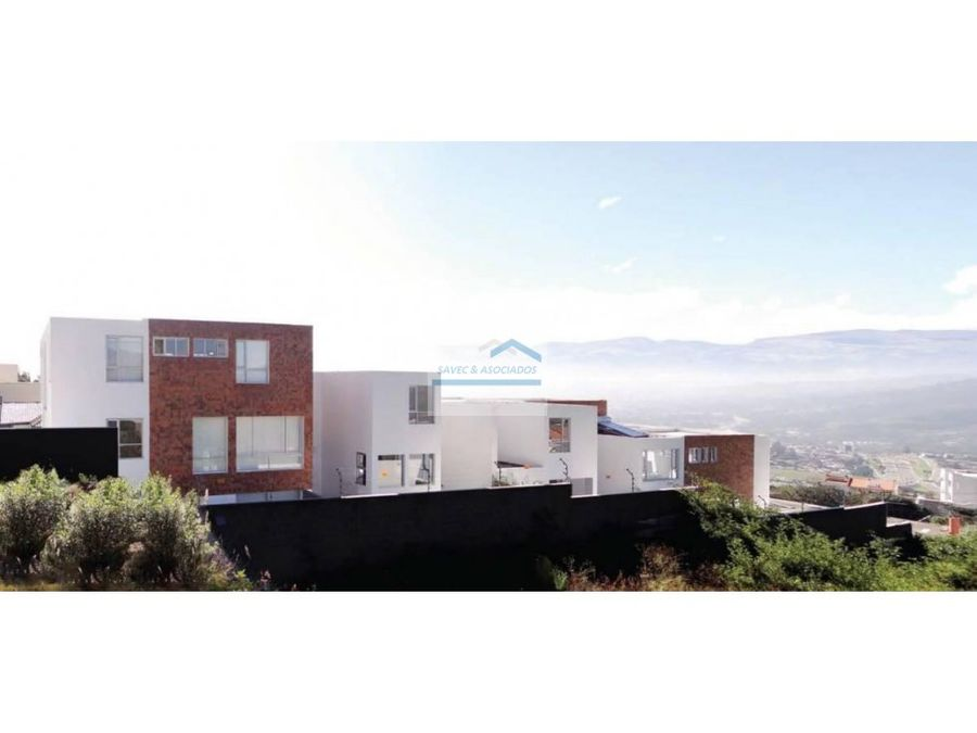 venta casas sector san juan de cumbaya 250000
