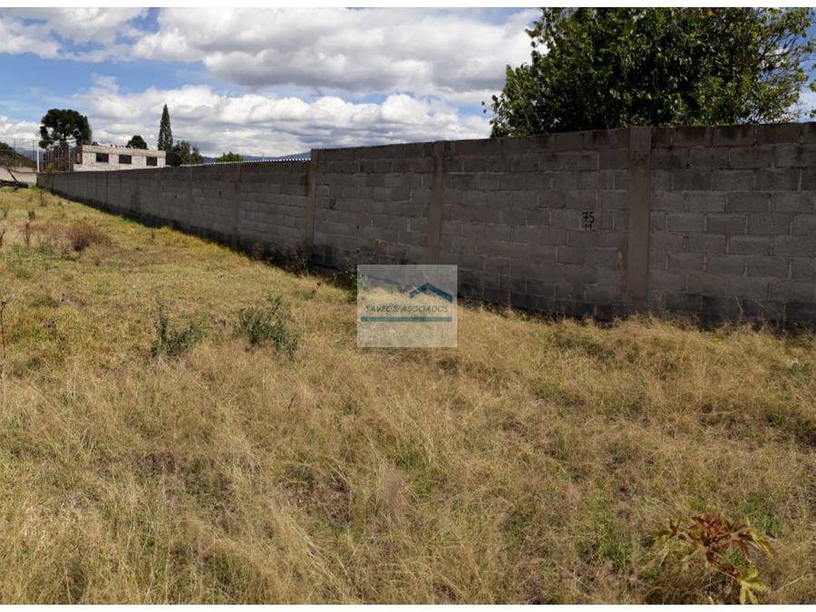 venta terreno a 150 el m2 tumbaco arenal 514800