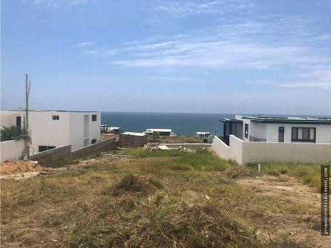terreno en urbanizacion marina blue manta
