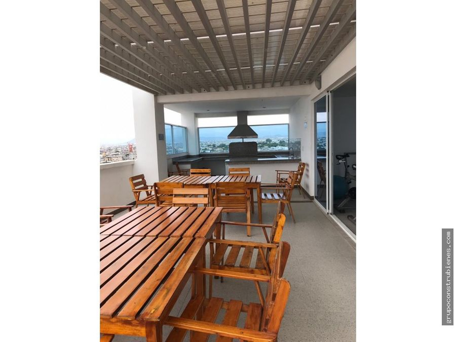 departamento amoblado vista al mar manta
